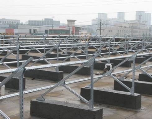 屋顶类型:防水油毡的屋顶
