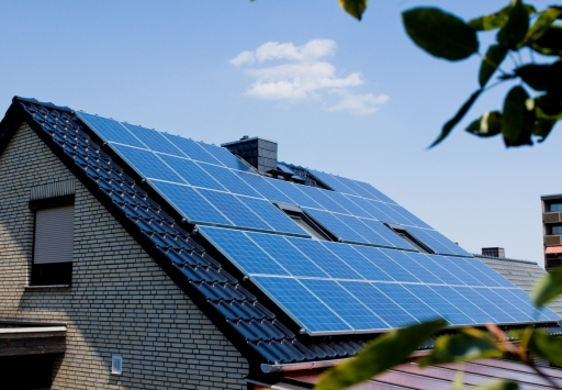 屋顶类型:家庭普通瓦片屋顶